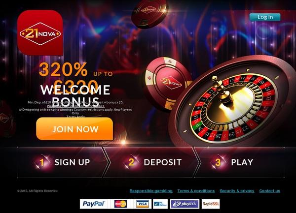 21 Nova 300 Bonus