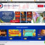 All British Casino Cash Back