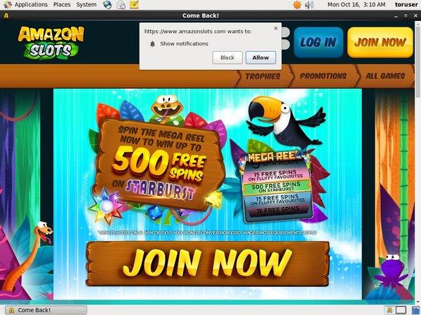Amazon Slots Astropay
