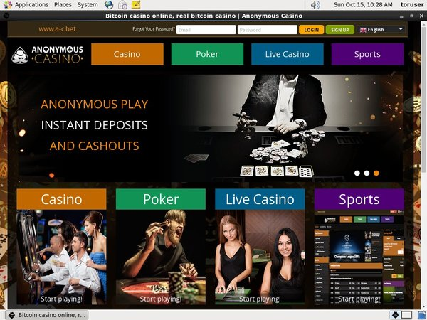 Anonymous Casino Start Account