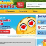 Bingo Hearts Open Account
