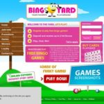 Bingo Yard Registration