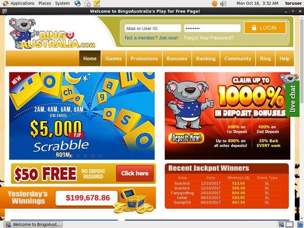 Bingoaustralia Online Casino Schweiz