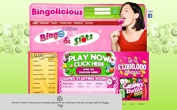 Bingolicious Sign Up Free