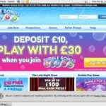 Bubble Bonus Bingo Special Offers