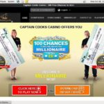 Captaincookscasino Access