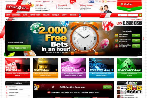 Casino 440 Match Odds