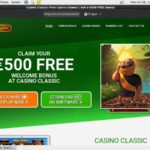 Casino Classic Create New Account