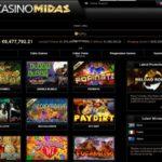 Casino Midas Sign Up Page