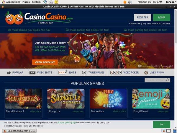 Casinocasino Parlay