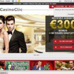 Casinoclic First Deposit Bonus