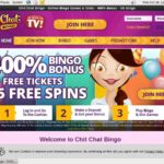 Chit Chat Bingo Free Bet Terms
