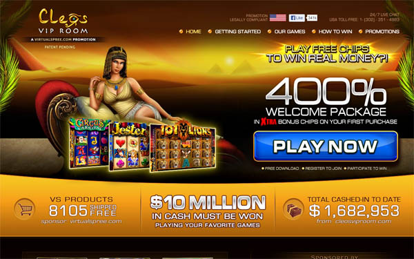 Cleos VIP Room Mobile Slots
