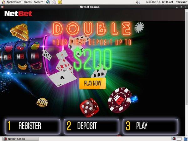 Create Net Bet Account