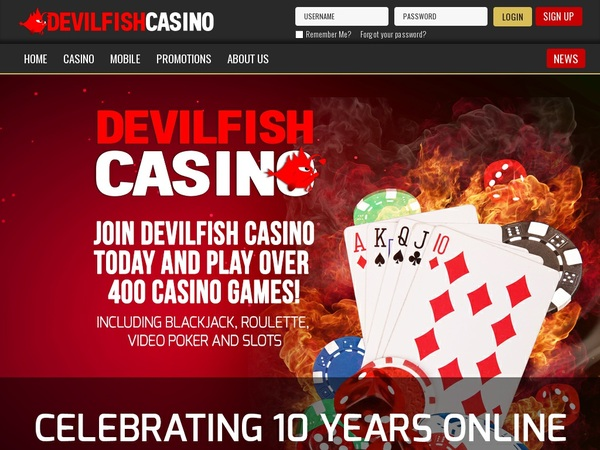 Devilfish Casino App
