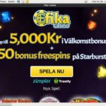 Fika Casino Free Plays