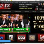 Get Casino Luck Casino Account