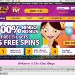 Get Chit Chat Bingo Free Bet