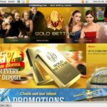 Gold Betting Gift Card
