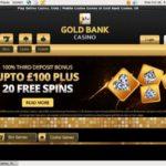 GoldBank Casino Football Betting