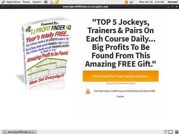 How To Use TJ Profit Finder
