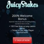 Juicystakes Welcome Bonus No Deposit