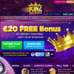King Jackpot Get Free Spins