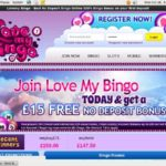 Lovemybingo Online Casino Offers
