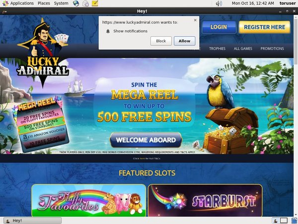 Lucky Admiral Casino Reviews