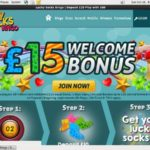 Lucky Socks Bingo Video Poker