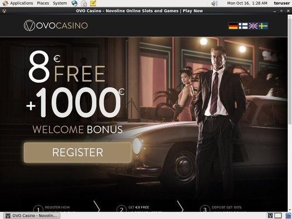 New Ovo Casino Bonus