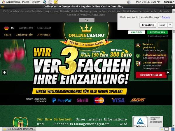 Online Casino DE Discount