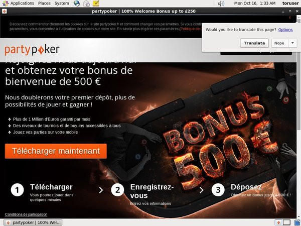 Open Partypoker Account