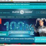 Platin Casino Free Spins No Deposit