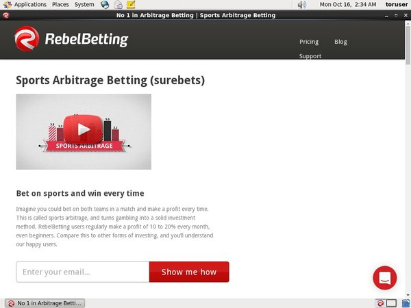 Rebel Betting Enter Cash