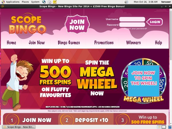 Scope Bingo Online Casinos