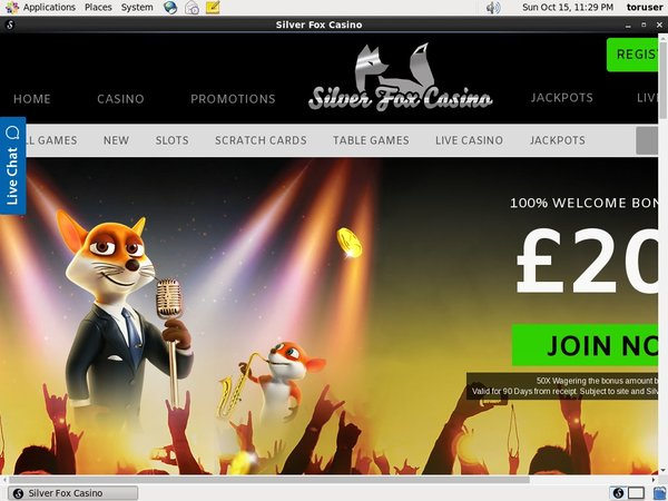 Silverfoxcasino Sign Up