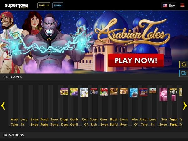 Supernova Mobil Casino Bonus