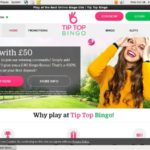 Tip Top Bingo Refer A Friend Bonus