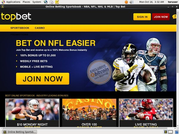 Top Bet Free Signup Bonus