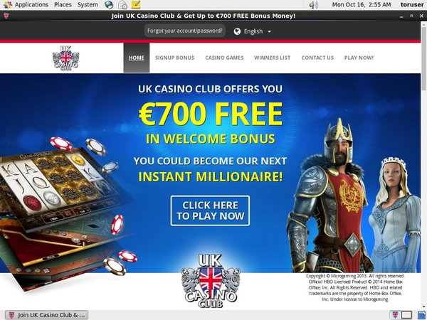 UK Casino Club Baccarat Bonus