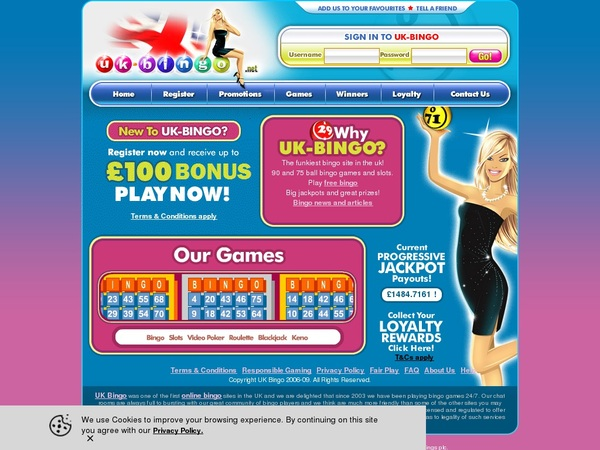 UK-Bingo Welcome Promo