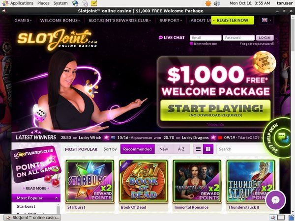 Slot Joint Free Games