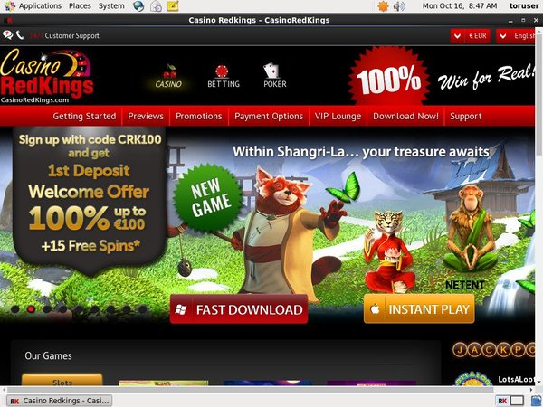Casino RedKings Signup Bonuses