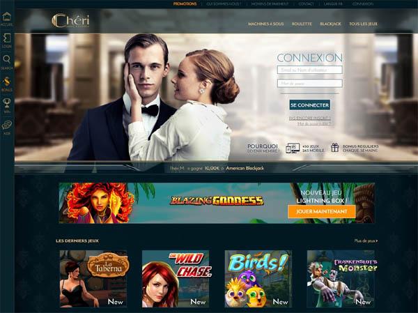Cheri Casino Danske