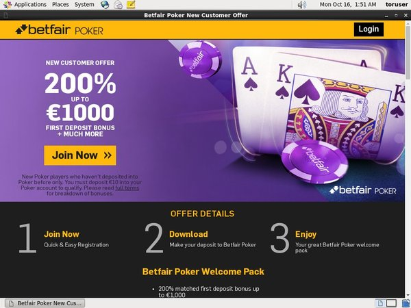 Betfair Poker And Casino Discount Offer