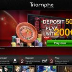 Triomphe Casino Account Bonus