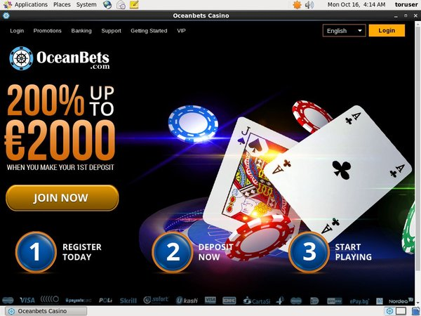 Ocean Bets Promotions Deal