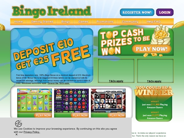 Bingo Ireland How To Register