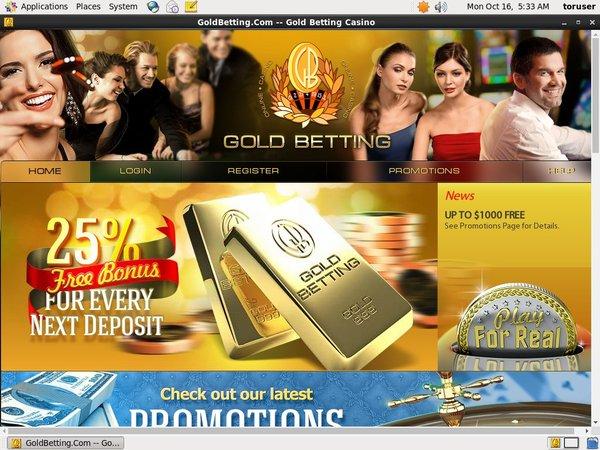 Goldbetting Free Bonus Rules